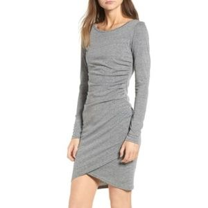 Leith Heather Grey Dress